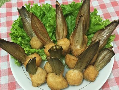 Petisco de Alcachofra com Peixe