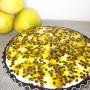 Torta de Maracujá com Oreo