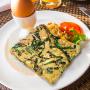 Omelete de Nirá com Linhaça